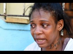 Antoinette Montague is overcome with emotion as she recalls the night she was shot.