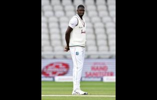 West Indies Test captain Jason Holder