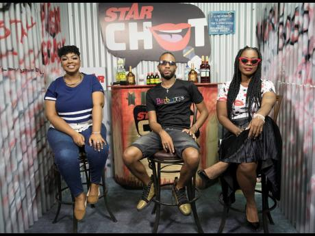 QQ and Pamputtae with STAR CHAT host Davina