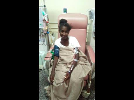 Nordia Grant is pleading for help to do dialysis.